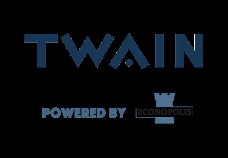Twain powered by EP logo